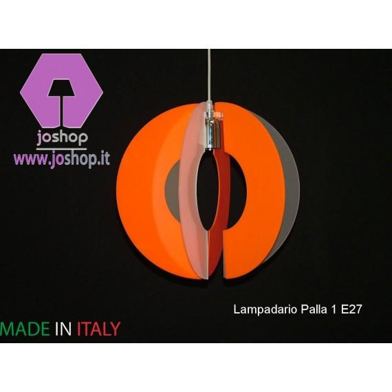 LAMPADARIO PALLA 1 LUCE COLLEZIONE IN PLEXIGLASS